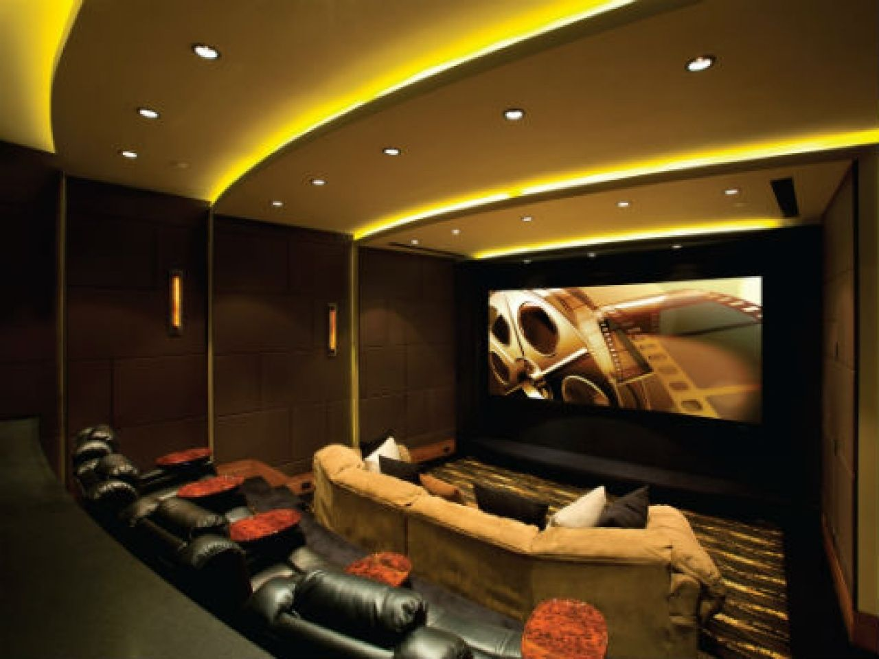 Home Theater Led Floor Lighting