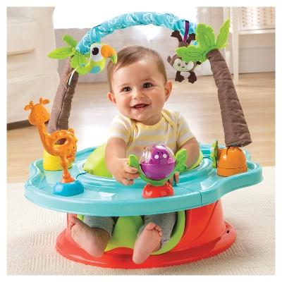 Summer Infant Deluxe Super Seat Wild Safari Baby Activity