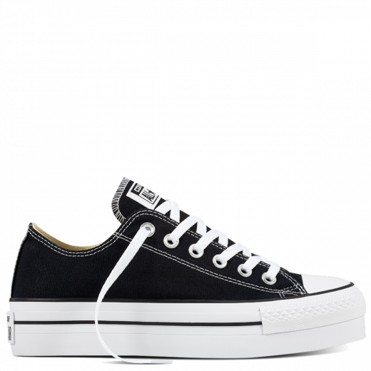 6a23fbee8a7 The Converse Chuck Taylor All Star Platform reinvents the iconic silhouette  by taking it a step higher for a modern look.