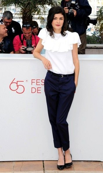 Audrey Tautou: Photocall for the film 'Therese Desqueyroux' held at the Palais des Festivals during the 65th Cannes Film Festival