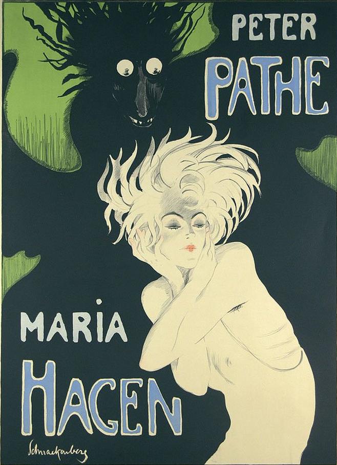 By Walter Schnackenberg (1880-1961), ca 1919, Peter Pathe, Maria Hagen Licht und Schatten.