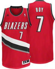 Nba Portland Trail Blazers Brandon Roy 30 Red Adidas Jersey Brandon Roy Fun Sports Red Adidas