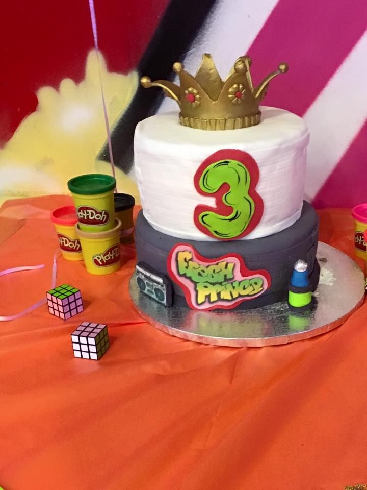 Fresh Prince Themed Birthday Cake Prince Birthday Party Prince