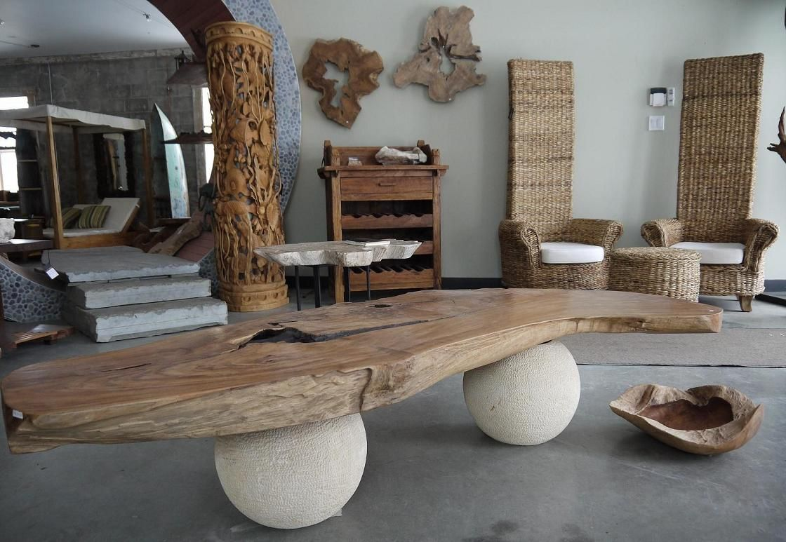 Bali Wood Interior Home Decor