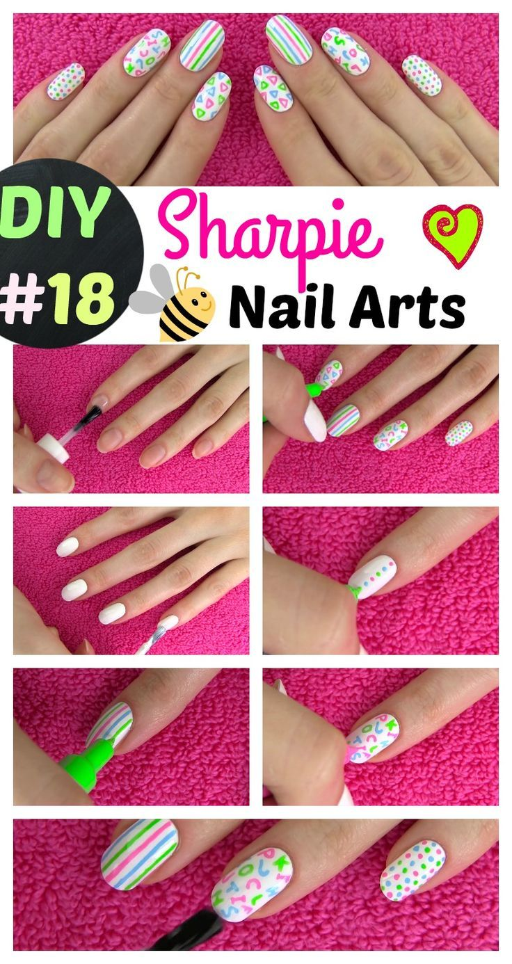 18 DIY Sharpie Nails and Sharpie Rock / Pebble Painting. List of ...
