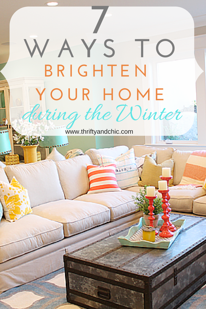 Great tips on how to add brightness and light into your home during