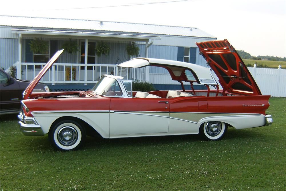 58 ford retractable hardtop pictures 48 1 1958 ford fairlane 500 skyliner retractable. Black Bedroom Furniture Sets. Home Design Ideas
