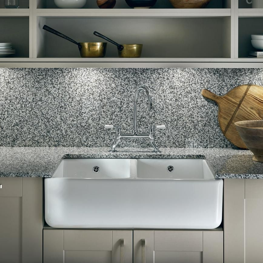 For an attractive focal point in a country kitchen design