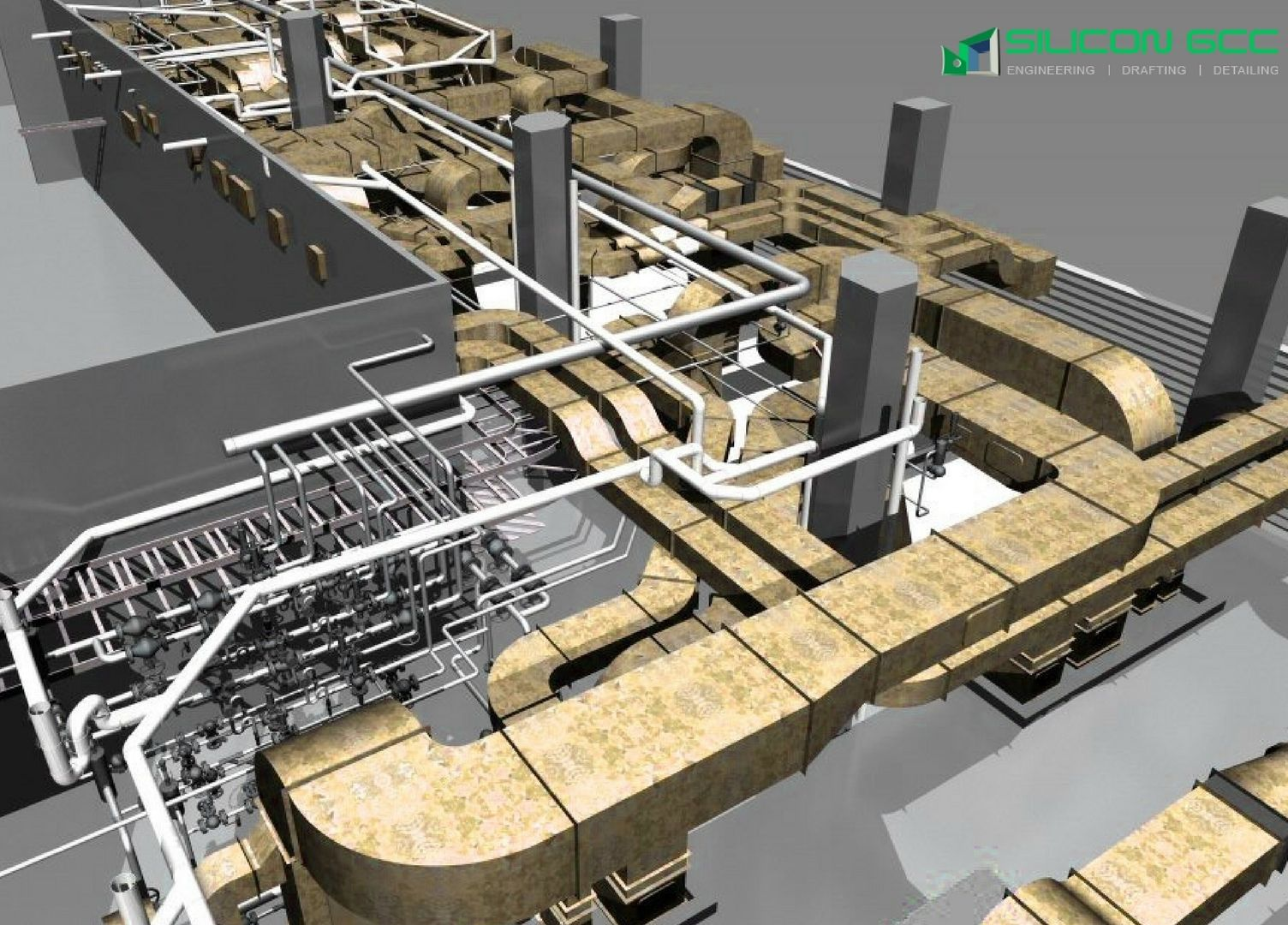 Silicongcc Is One Of The Main Outsourcing Firm In Uae Dubai We Hvac Drawings Pictures Offer Cad