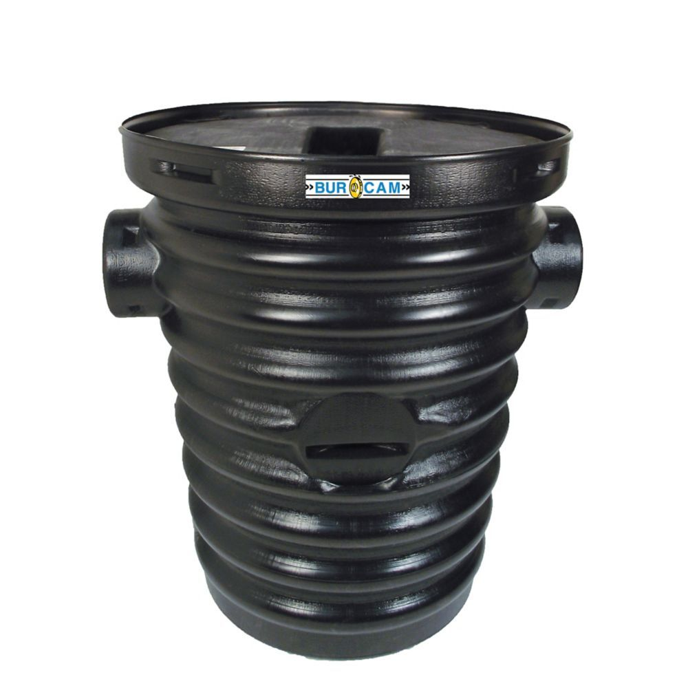 Bur-Cam Sealed Sump Basin With Lid For Ontario And Quebec Plumbing Code | The Home Depot Canada
