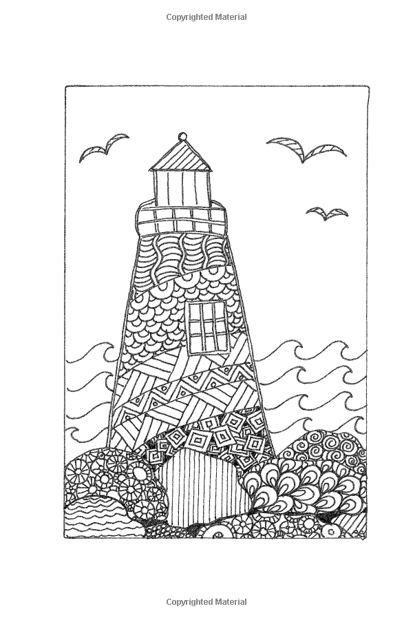 Amazon.com: Take Me To The Sea: 30 Ocean-Themed Coloring Pages (9781515234913): Shari Green: Books