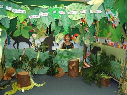 Create a jungle floor for block play google search for Jungle themed playroom