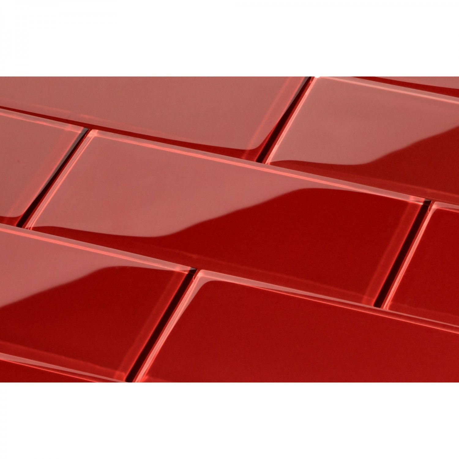 Glossy Red Subway Tile For Backsplash Google Search Red Subway Tile Glass Subway Tile Glass Tile