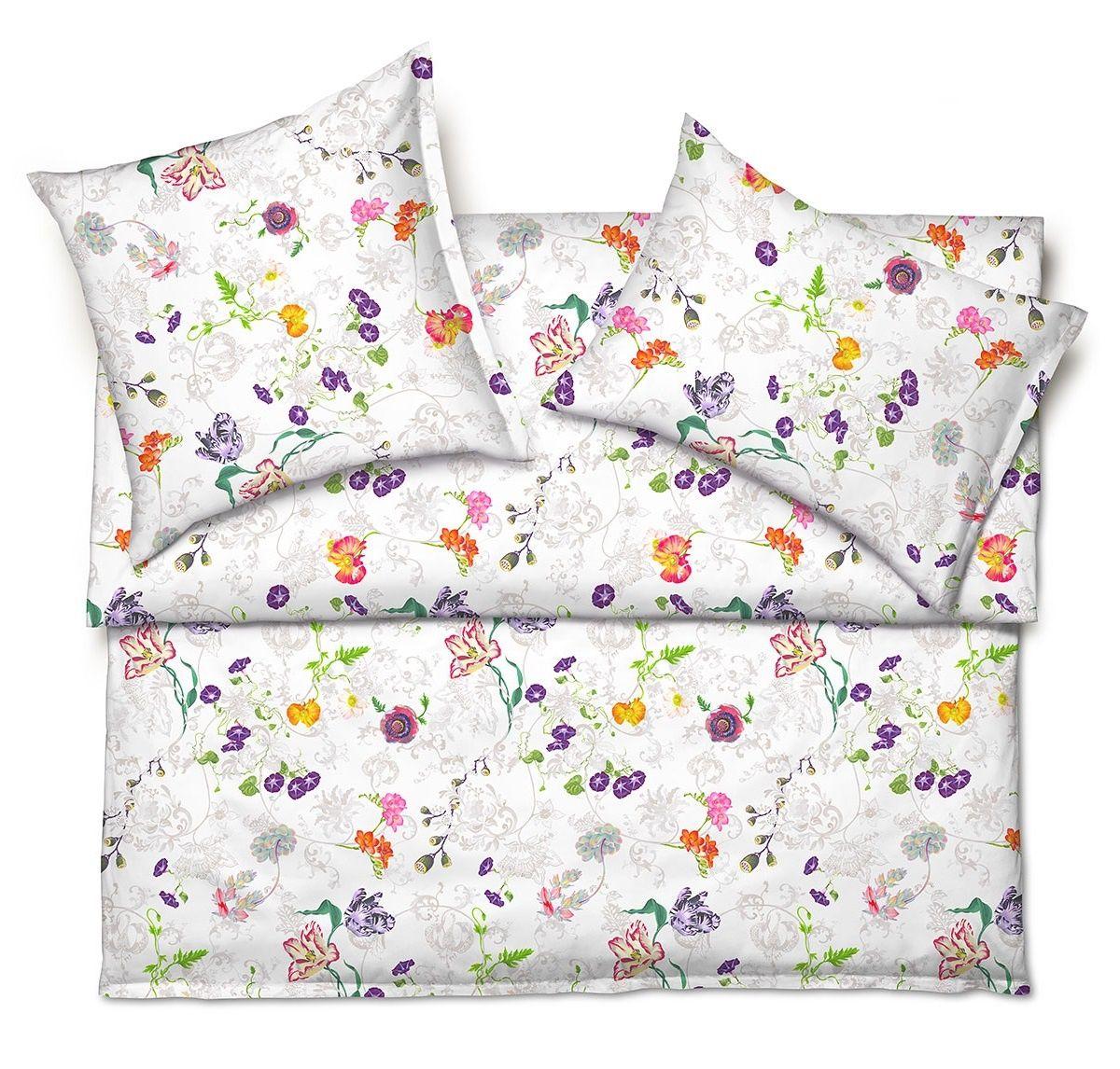 Schlossberg Bettwasche Elena Blanc Linen Bedding Bed Home