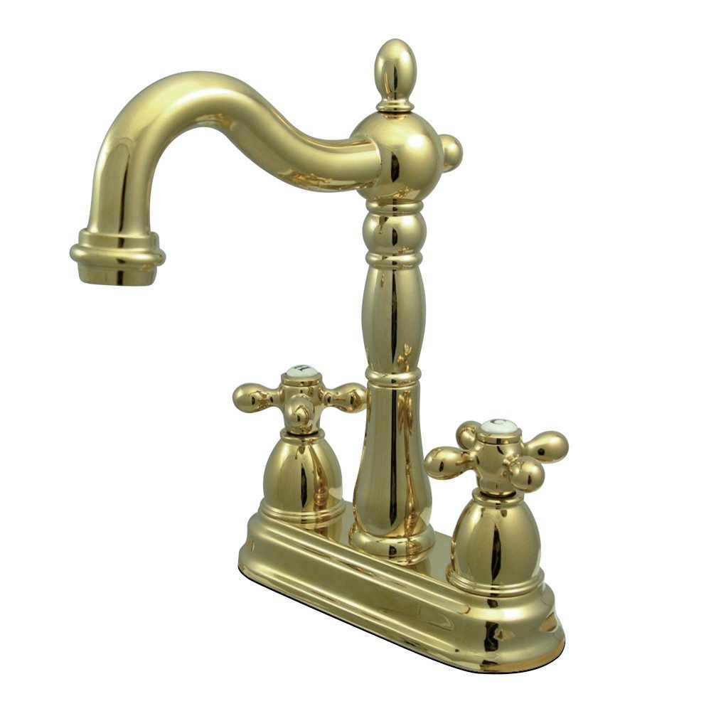 Kingston Br Kb1492ax Heritage Bar Faucet Polished Price 189 95 Free Shipping