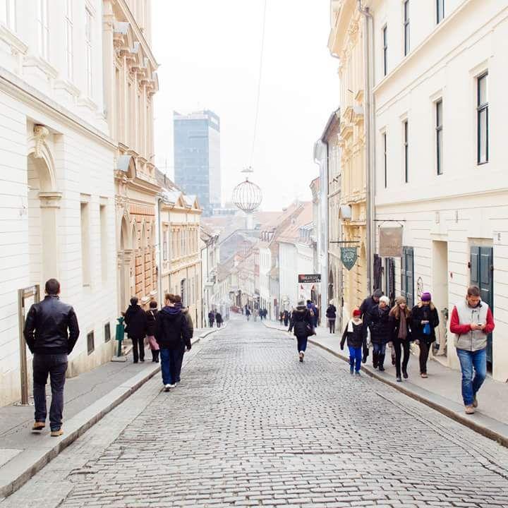 Radiceva Street Zagreb Visit Croatia Capital Travel Love Lenuci Horseshoe Downtown Upper Town Oldtown Licitar Dolac Kaptol Croatia Zagreb Dolac