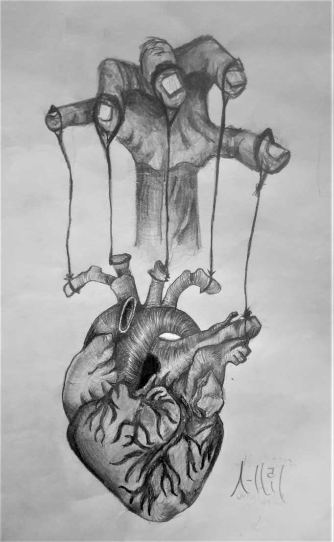 Merhabalar Sizinle Karakalem çizimimi paylaşmak istiyorum umarım beğenirsini...