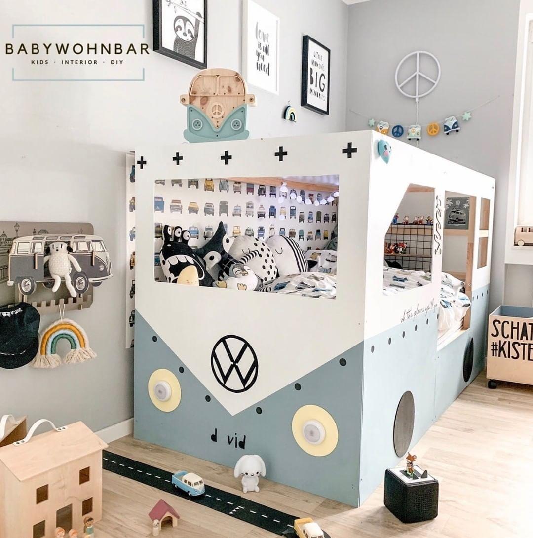 So ein cooles Bett bei der lieben 📷 babywohnbar 💚 Toll, oder ...