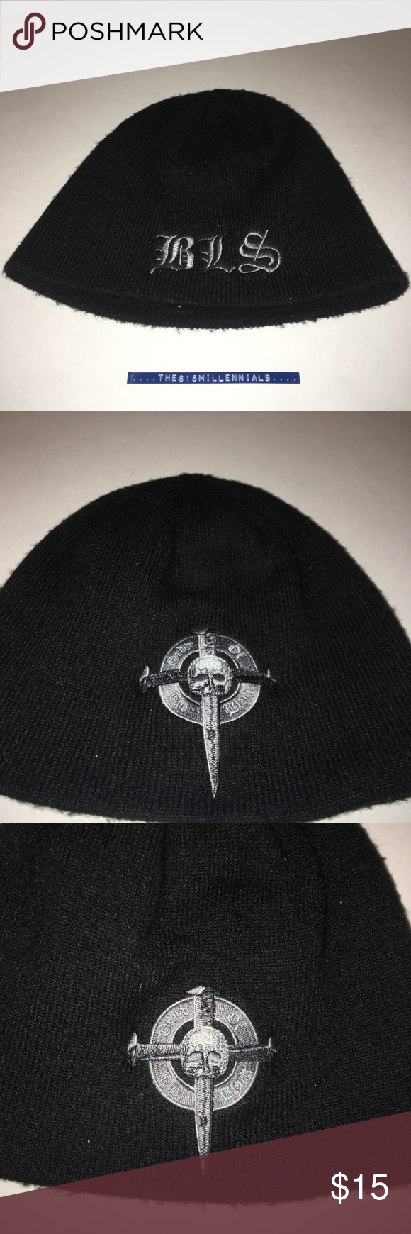 5c224165aef Black Label Society Beanie Hat. Zakk Wylde O S Preworn Black Label Society  Beanie. Band fronted by guitar player Zakk Wylde. It is a one size fits all.