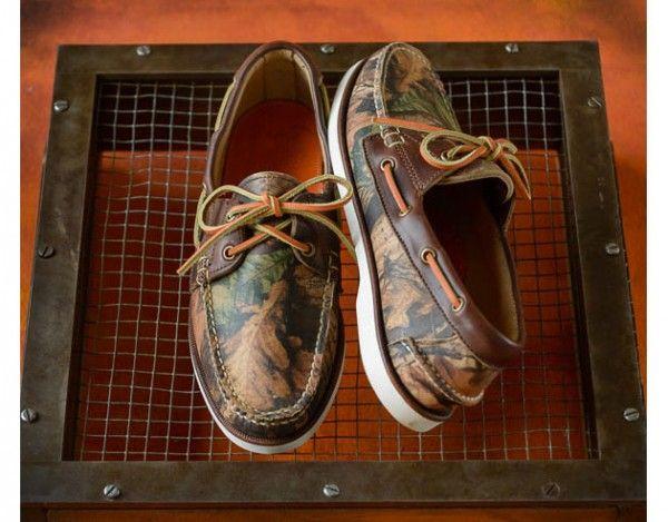 Eastland Camo Boat Shoes