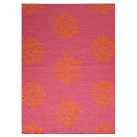 Pink and orange Mateo Rug at Joss and Main | Baby Feess | Pinterest ...