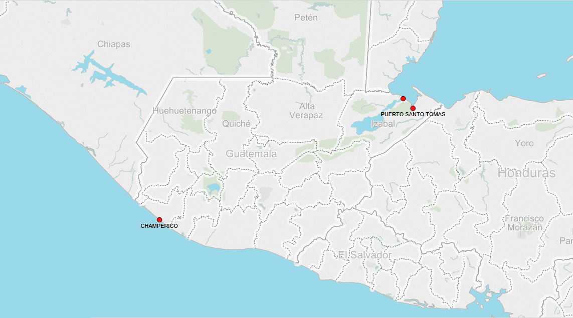 Sea Ports G Marine Traffic Geographic Coordinates Sea Port