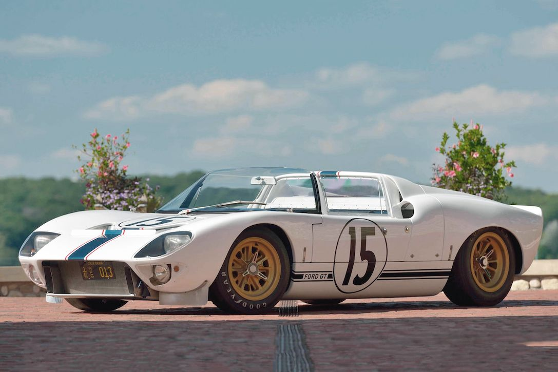 Behold The Iconic '65 Ford GT Competition Prototype That