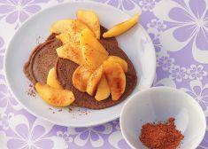 Pancake di grano saraceno con mele caramellate ricetta pancake