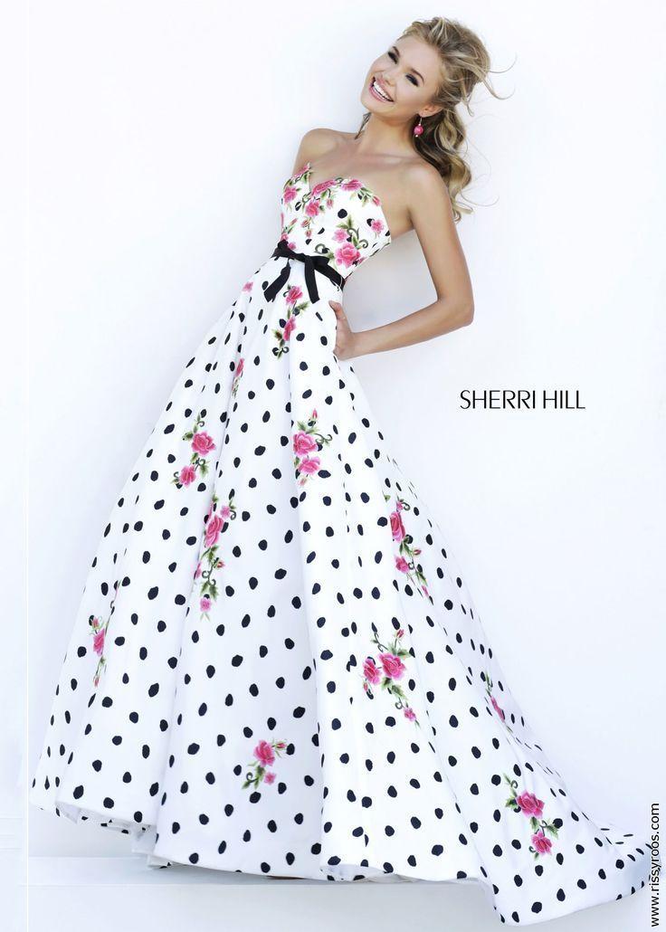 5bce08b55da5f SHERRI HILLのツーピースカラードレスがどれもこれも可愛すぎ♡にて紹介している画像 もっと見る