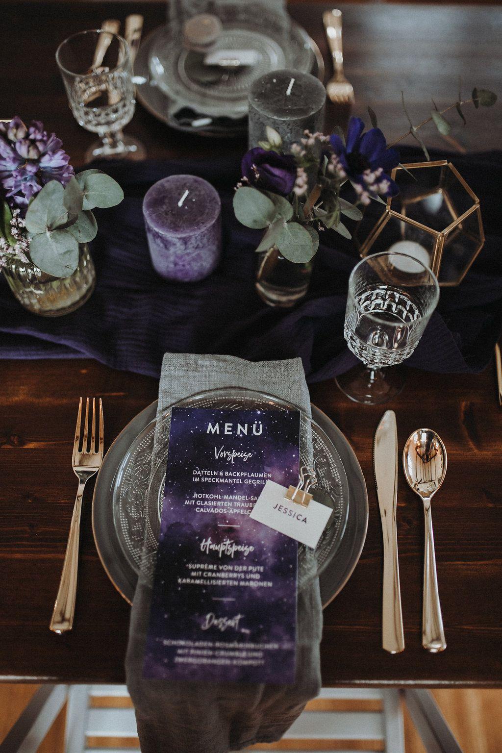 Ultra Violet und Galaxy Wedding | Hochzeitsblog The Little Wedding Corner