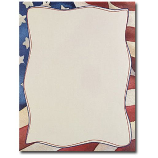 patriotic border writing paper Enjoy this free patriotic lined writing paper don't forget to follow me by clicking on the green star by my name to be notified of sales, new products and more.