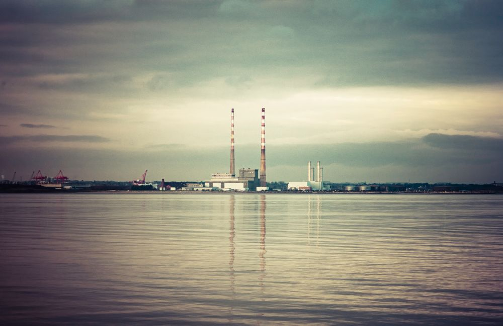 Pin By Mickey Jacko Jackson On Poolbeg Chimneys In 2020 Dublin Art Prints Dublin Bay