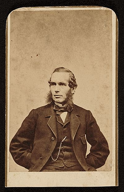 Citation: Nathaniel Currier, 185-? / D. Appleton and Company, photographer. Harriet Endicott Waite research material concerning Currier & Ives, Archives of American Art, Smithsonian Institution.