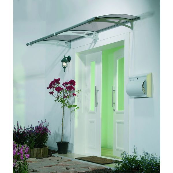 Palram Aquila 2050 Solar Grey Awning - Overstock™ Shopping - Big Discounts on Palram Door Accessories