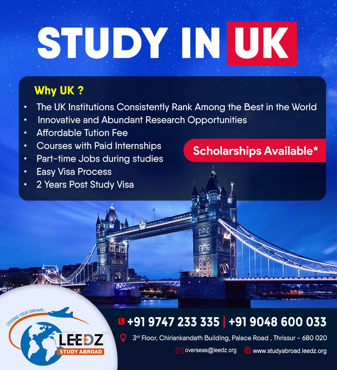 STUDY IN UK in 2020 Ielts, Part time jobs, Scholarships