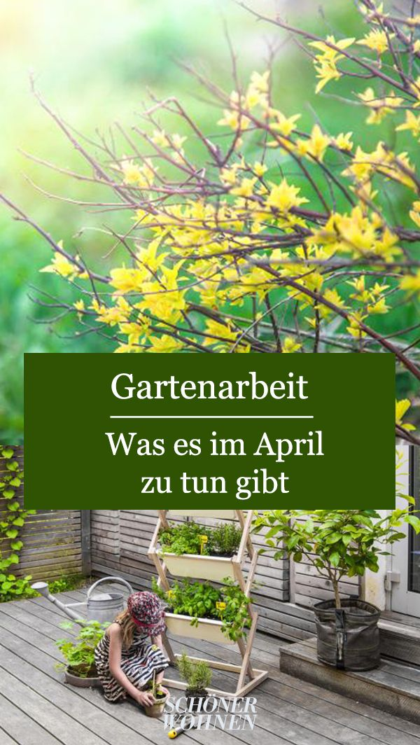 Gartenarbeit Im April In 2020 Gartenarbeit Garten Recycling Garten