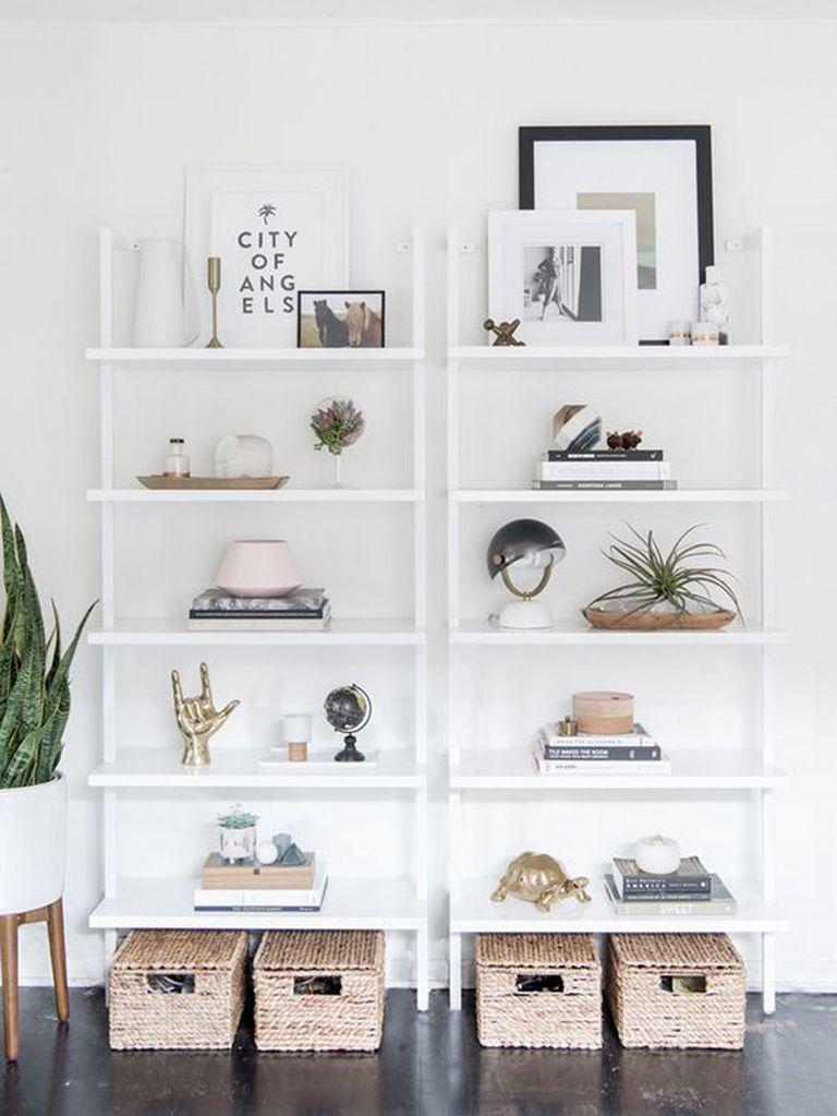 12 ideas con estanter as blancas organizaciones - Librerias salon blancas ...