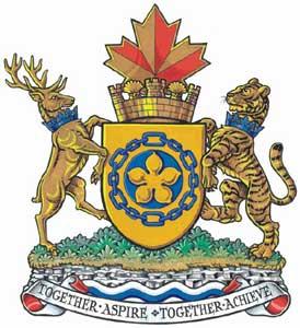 Hamilton Ontario Coat Of Arms Flag Logo City Logo