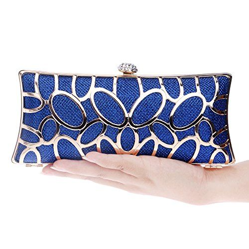 db4b85f2b126 Symbolove Womens Modern Fashion Evening-handbags Cabinet Clutch Bag For  Womens