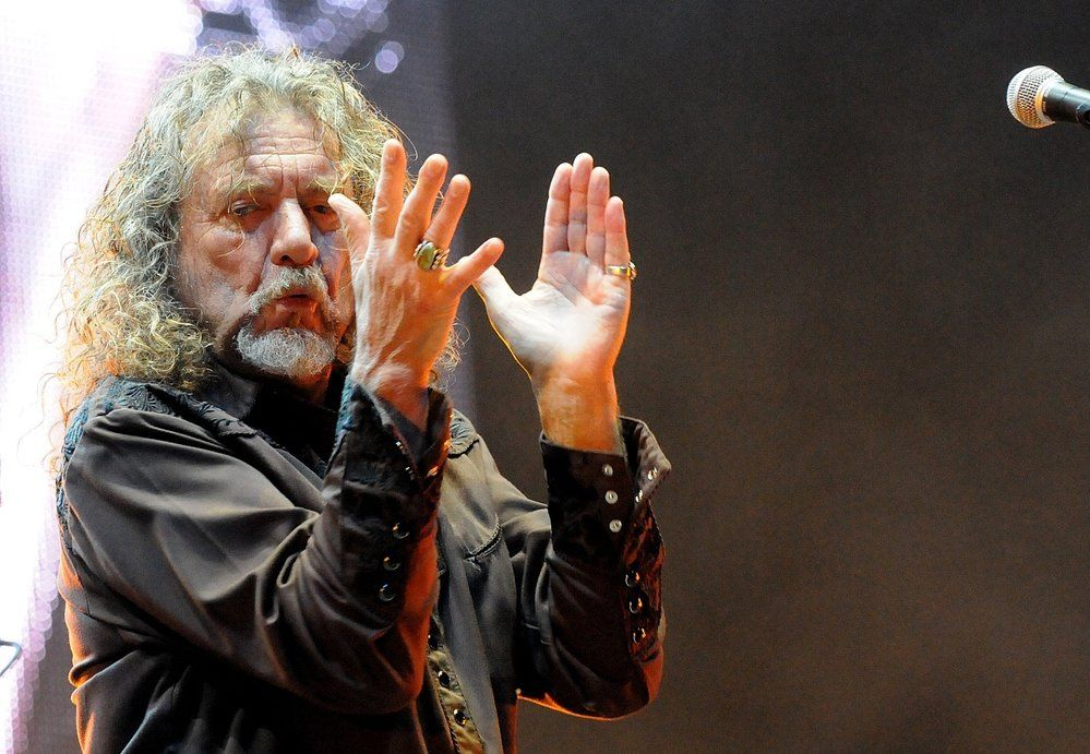Robert Plant  2014  Ostrava Czech republic