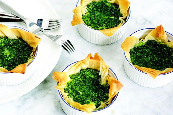 Mini Kale And Parmesan Quiche Recipe