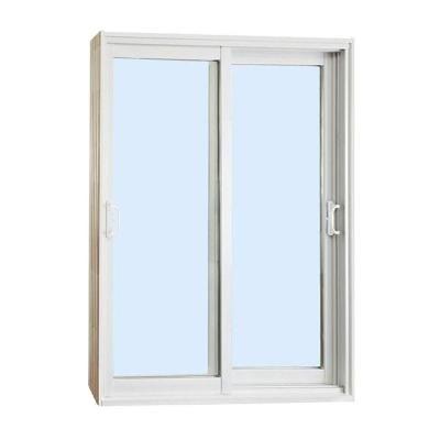 Stanley Doors 72 In X 80 In Double Sliding Patio Door Clear Low
