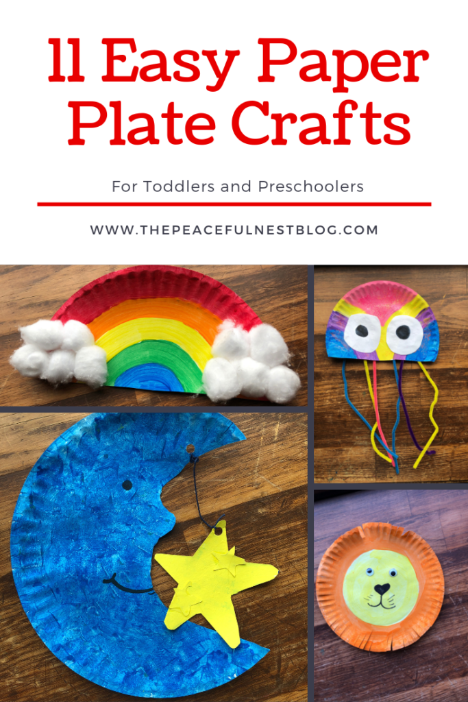Photo of 11 Easy Paper Plate Crafts for Kids – The Peaceful Nest