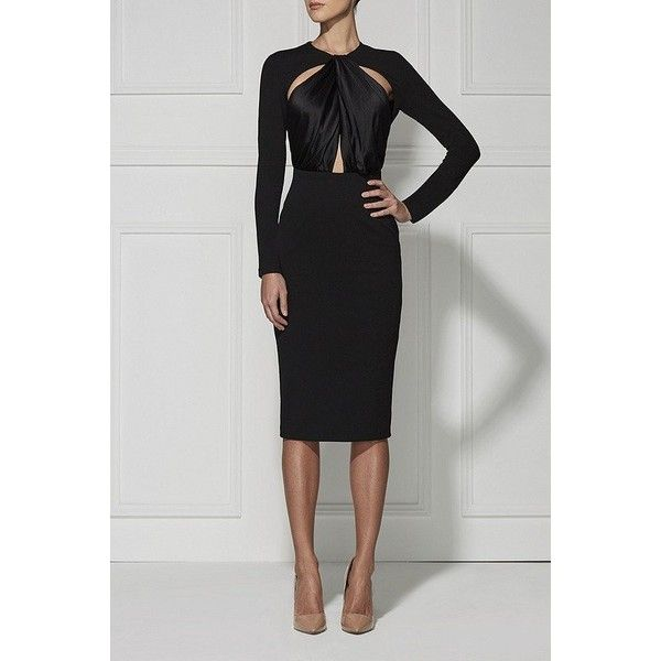 Carolina Cut-Out Bandage Plus Size Dress ❤ liked on Polyvore ...