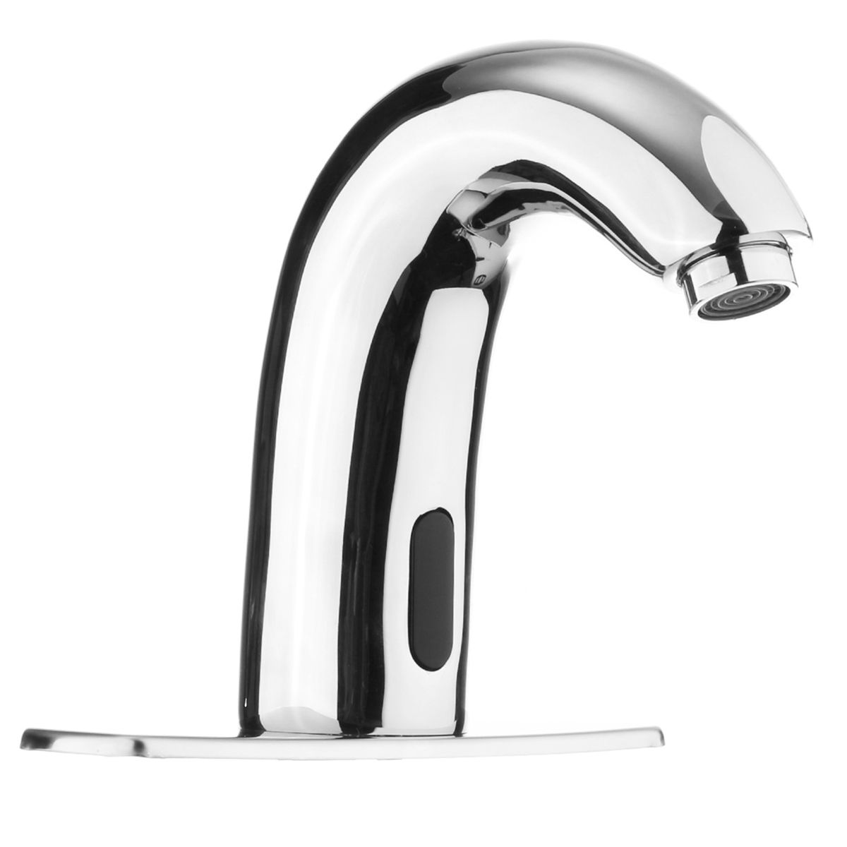 Automatic Sensor Touchless Faucet Hands Free Bathroom Sink Cold ...