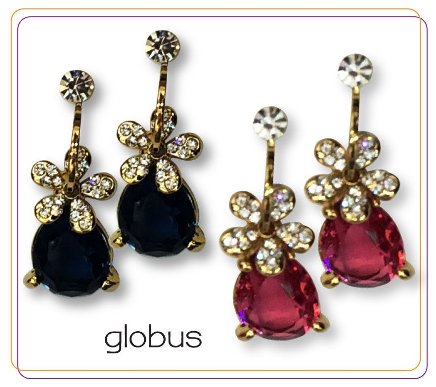 Timeless pear drop earrings.#accessories #globussupersale