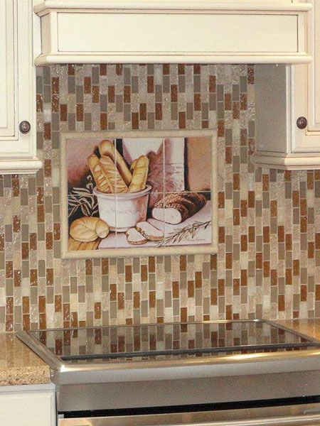 Decorative Tiles For Backsplash Decorative Tile Backsplash  Kitchen Tile Ideas  Bread Study