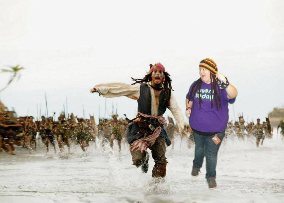 Pirates green screen