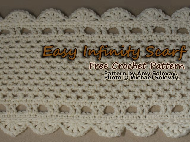 Have Fun With This Crochet Infinity Scarf Free Pattern | Tejido ...