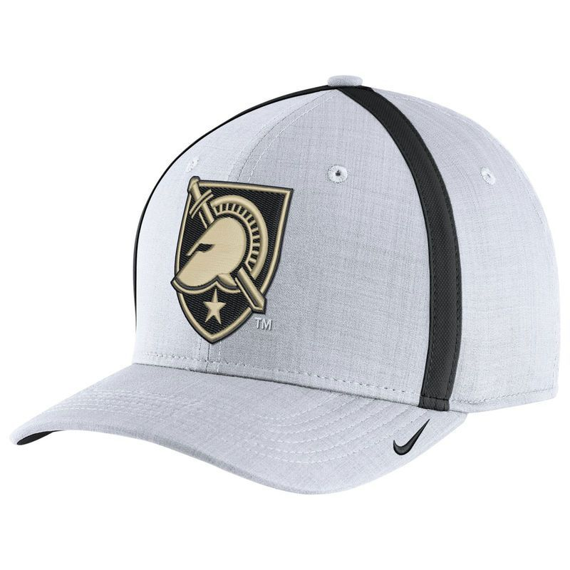 79567713c3097 Army Black Knights Nike 2017 Sideline AeroBill Coaches Performance  Adjustable Hat - White